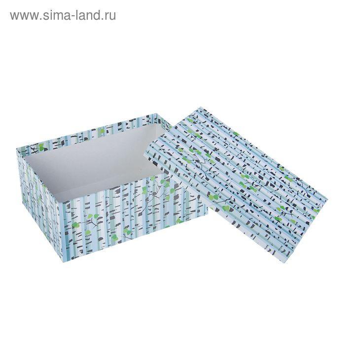 """Набор коробок 10в1 """"Березки"""" 30,5 х 20 х 13 - 12 х 6,5 х 4 см - фото 2"""