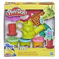 """Пластилин Игровой набор """"Сад или инструмент"""" Play Doh."""