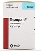 Темодал (Темозоломид) 100 мг, 140 мг, 180 мг, 250 мг/5 кап США Temodal, фото 3