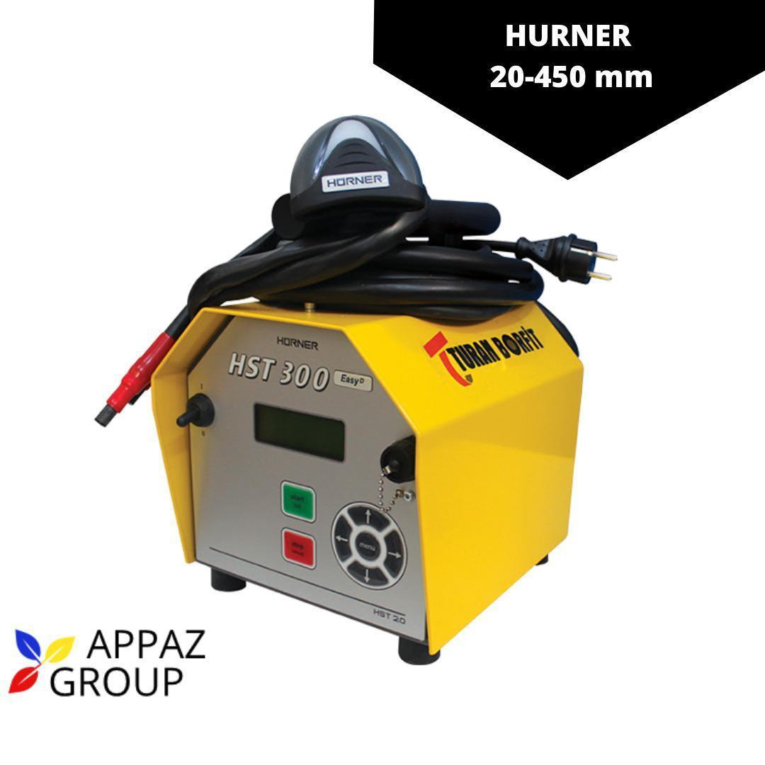 Аппараты для сварки ПНД труб Hurner Junior 20-1200 мм