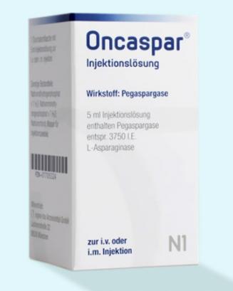 Онкаспар (Oncaspar)  Пэгаспаргаза (Pegaspargase) 3750Е Австрия
