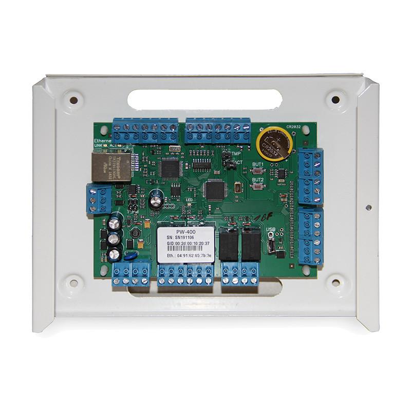 Универсальный IP контроллер СКУД PW-400 EU