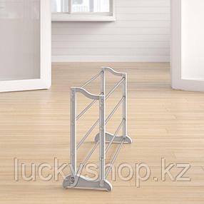 Портативная стойка для обуви 4 яруса, фото 2
