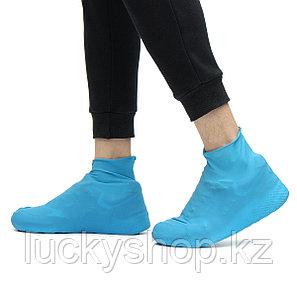 Резиновые бахилы на обувь от дождя, размер M, фото 2