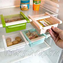 Подвесной органайзер для холодильника, цвет зеленый