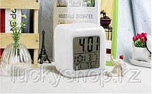 Часы-ночник Color Changing Clock (меняют цвет), фото 2