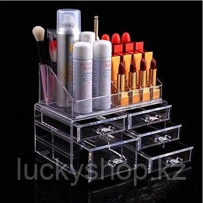 Органайзер-стойка для косметики с 5 ящичками, фото 2