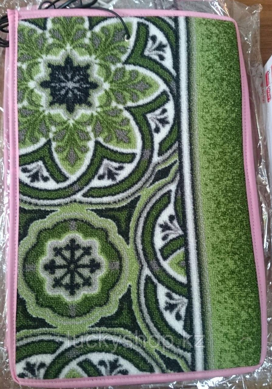 Коврик электрический с подогревом, цвет зеленый