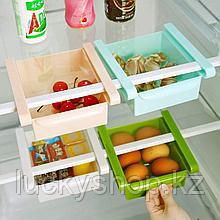 Подвесной органайзер для холодильника, цвет голубой