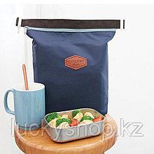 Термосумка для обедов синяя