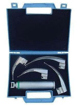 Волоконно-оптический ларингоскоп MacIntosh NEW WASEEM LED-02 4 ложки 0-3, фото 2