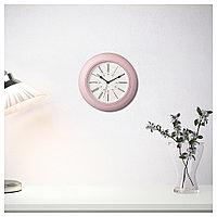 СКАЙРОН Часы настенные розовые, фото 1