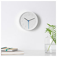СТОММА Настенные часы, белый