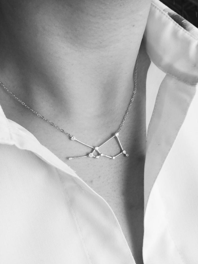 Серебряная подвеска Созвездие (Весы)  Brosh Jewellery (Серебро 925)