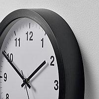 ЧАЛЛА Настенные часы, черный, 28 см, фото 1