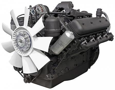 ЯМЗ-238НД5 V-образный 8-цилиндровый дизельный двигатель