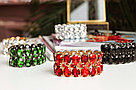 Вечерние браслеты Brosh Jewellery. белый Кристалл Тренд 2020г., фото 2