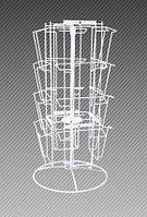 Стойка настольная четырехсторонняя для прайс-листов на 16 карманов формат А4 (цвет) арт. СБС4-16