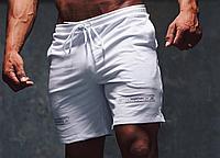 Спортивные шорты Gym Steeze белые, фото 1
