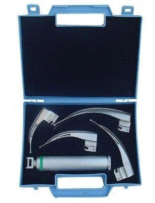Волоконно-оптический ларингоскоп Макинтош NEW WASEEM LED-01 4 ложки 1-4, фото 2