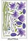 """Наклейка настенная, """"Фиолетовые цветы"""", фото 4"""