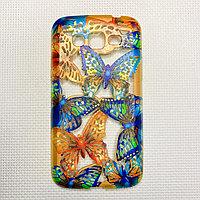Силиконовый чехол бабочка Samsung Note2