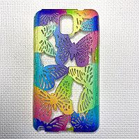 Силиконовый чехол бабочка Samsung Note3