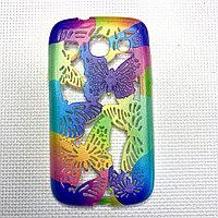 Силиконовый чехол бабочка Samsung I8262