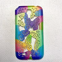Силиконовый чехол бабочка Samsung S4/i9500