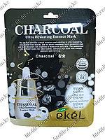 Увлажняющая и питательная маска для лица,древесный уголь