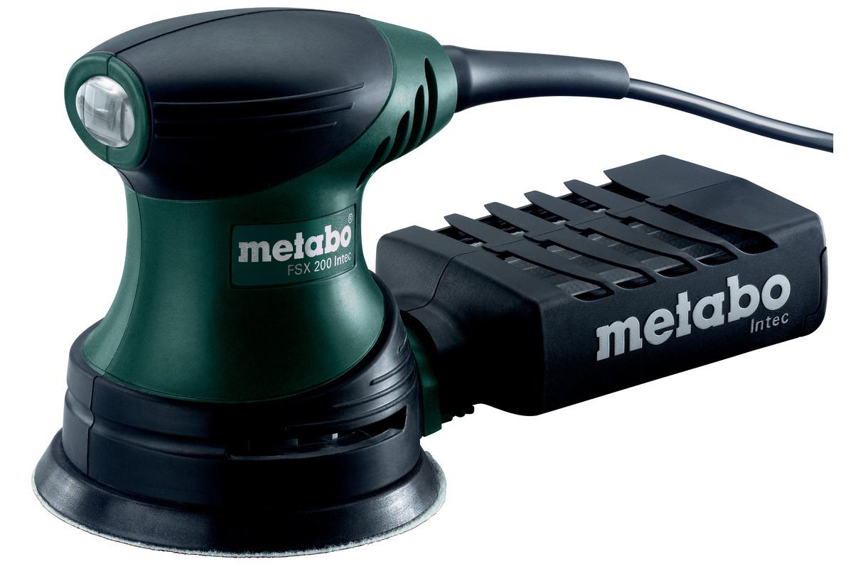 Эксцентриковая шлифмашина METABO FSX 200 INTEC