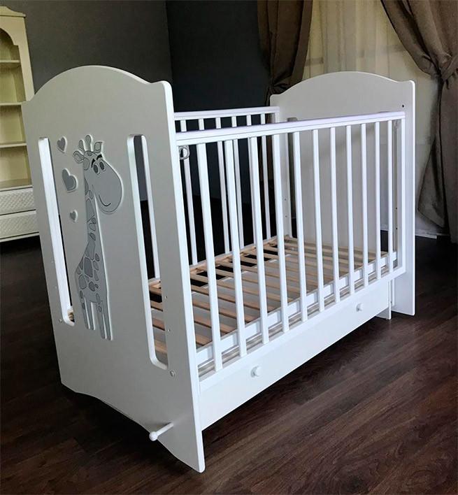 Детская кроватка ЛЕЛЬ Baby sleep-8 Ваниль ПР 015