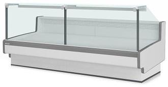 Холодильная витрина Aurora Slim 125 рыба на льду