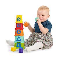 Развивающая игрушка Пирамидка Stacking Cups Chicco