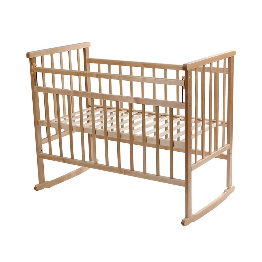 Детская кроватка Мой малыш 2 светлая
