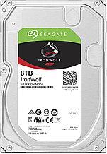 "Seagate ST8000VN004 Жесткий диск для NAS систем 8Tb HDD IronWolf SATA 6Gb/s 7200rpm 3.5"""