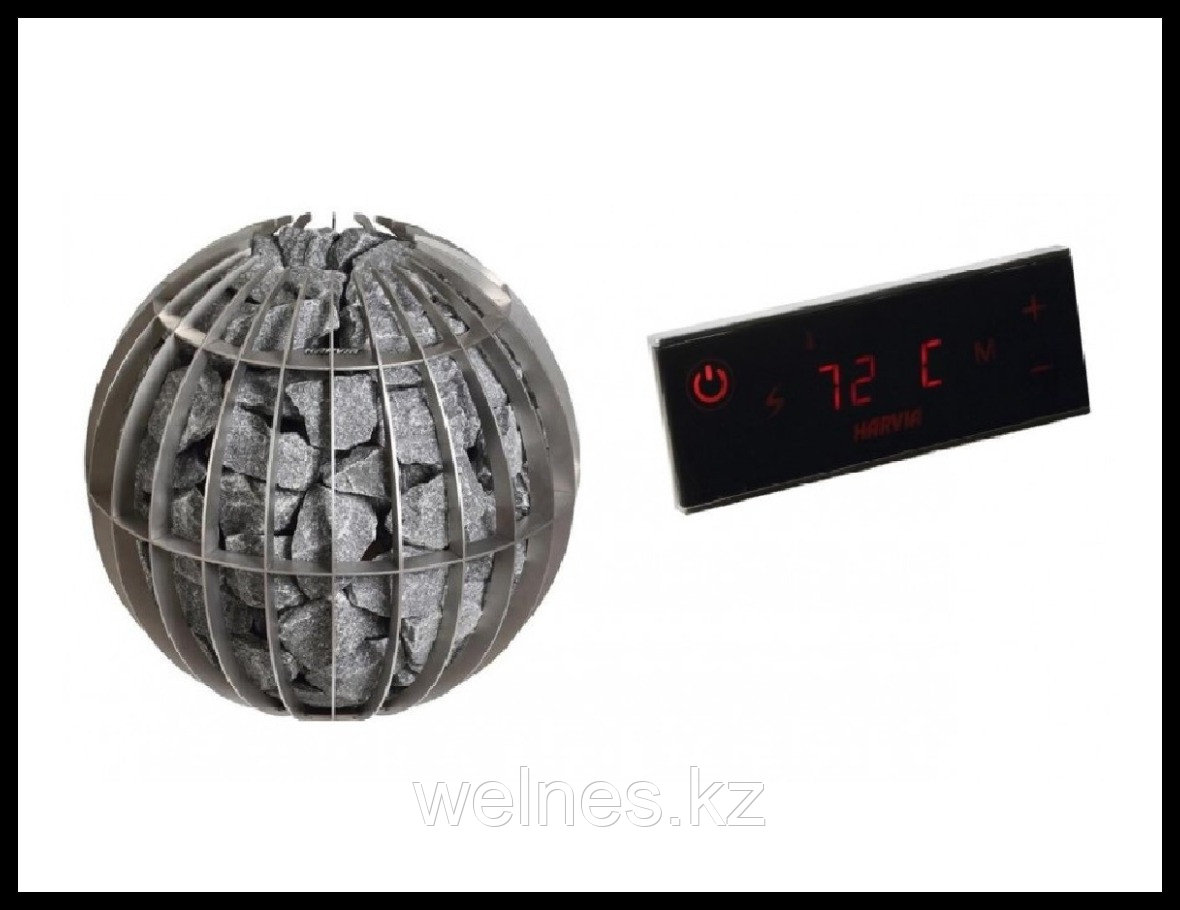 Электрическая печь Harvia Globe GL70 (выносной сенсорный пульт в комплекте)