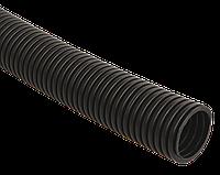Труба гофр.ПНД d 25 с зондом (10 м) IEK черный