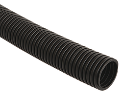 Труба гофр.ПНД d 25 с зондом (50 м) IEK черный