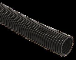 Труба гофр.ПНД d 32 с зондом (25 м) ИЭК черный