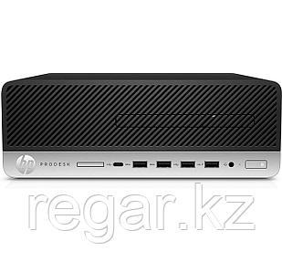 Системный блок HP HP Prodesk 600 G3 SFF / Platinum / i3-6100 / 4GB / 500GB HDD / DOS / DVD-WR / 3yw / USB  Slim kbd / mouseUSB / VGA Port