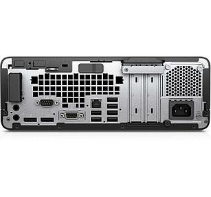 Системный блок HP HP Prodesk 600G3SFF / Platinum / i3-6100 / 4GB / 500GB HDD / W10p64 / No  ODD / 3yw / USB  Slim kbd / mouseUSB / HP VGA Port
