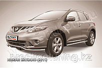 "Защита переднего бампера d57 ""волна"" Nissan Murano 2010-15"