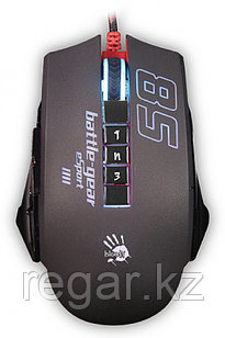 Мышь A4 Bloody P85 Sport черный оптическая (5000dpi) USB2.0 игровая (8but)