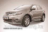 Защита переднего бампера d57 Nissan Murano 2010-15