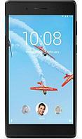 "Планшет Lenovo Tab 4 TB-7304X MT8735D (1.1) 4C/RAM1Gb/ROM16Gb 7"" IPS 1024x600/3G/4G/Android 7.0/черный/2Mpix/2Mpix/BT/GPS/WiFi/Touch/microSD"
