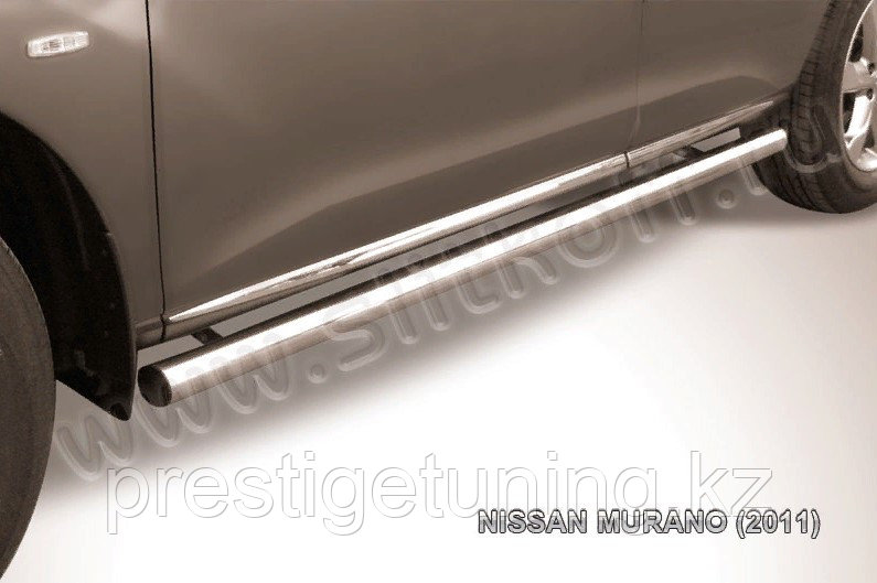 Защита порогов d57 труба Nissan Murano 2010-15