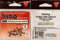 Вертлюг тройной Rolling Cross - line Swivel №4