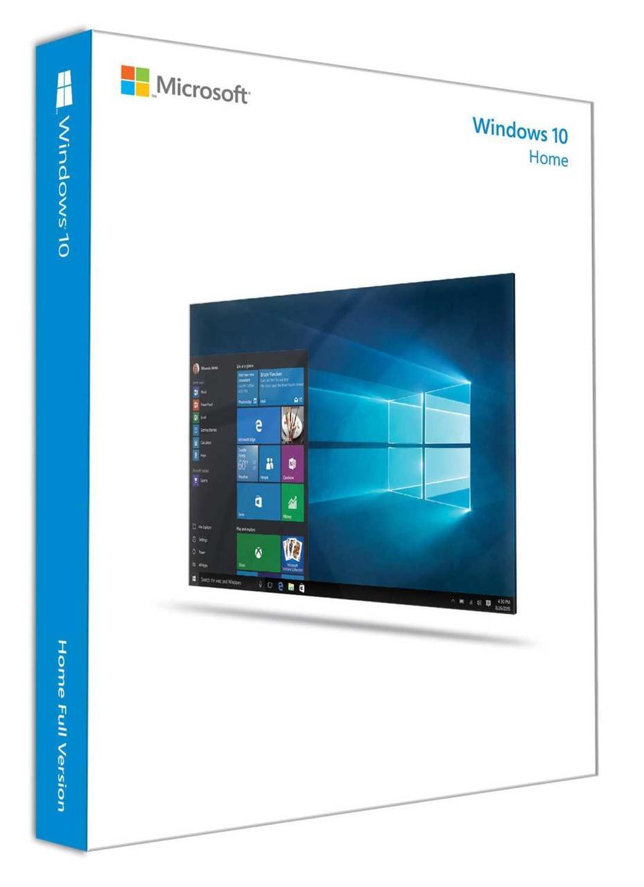 ОС Windows 10 Home 32-bit/64-bit (KW9-00265)