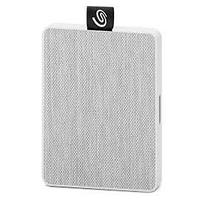 "Внешний твердотельный накопитель Seagate One Touch SSD STJE500402 500ГБ 2.5"" USB 3.0 White"